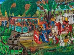 Service Ogoun Toro, Haitian Art, Haiti