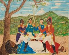 Toussaint, Christophe, Petion, Dessalines (Vowing to Abolish Slavery), Haitian