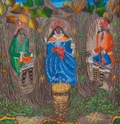 Roi de Voudon (Royalty of Vodou) Haitian Art, Haiti