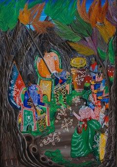 Sobo Bade Mambo, Haitian Art, Haiti