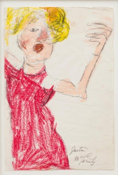 Opera Singer, 1960 - Self-taught Outsider Art