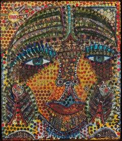 Dot Matrix (2013-2014) Self-taught Outsider Art