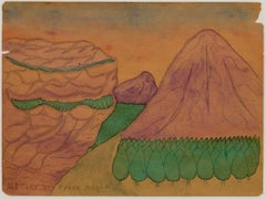Red Clay Mountain Ozark (Self-taught, Outsider Art)