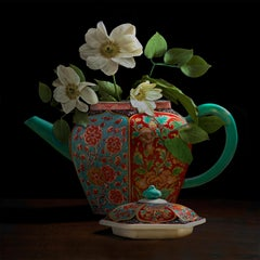 Clematis in a Chinese Teapot