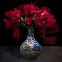 Tulips in a Persian Vessel