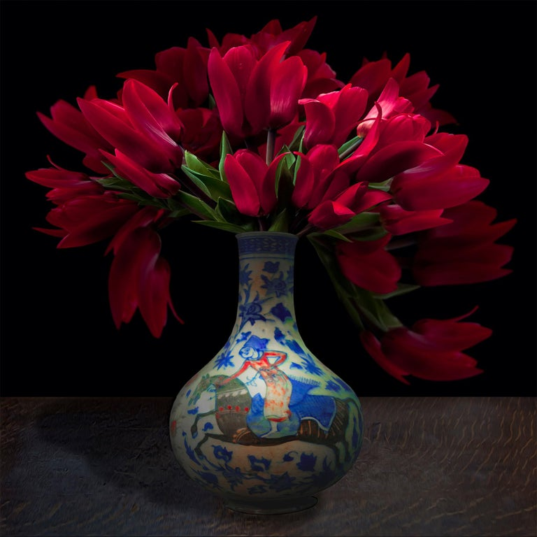 Persian Tulip red bracelet