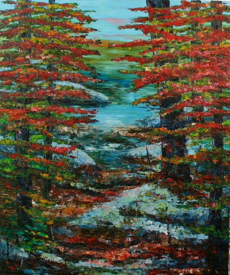 John Barkley Landscape Painting - A Way In