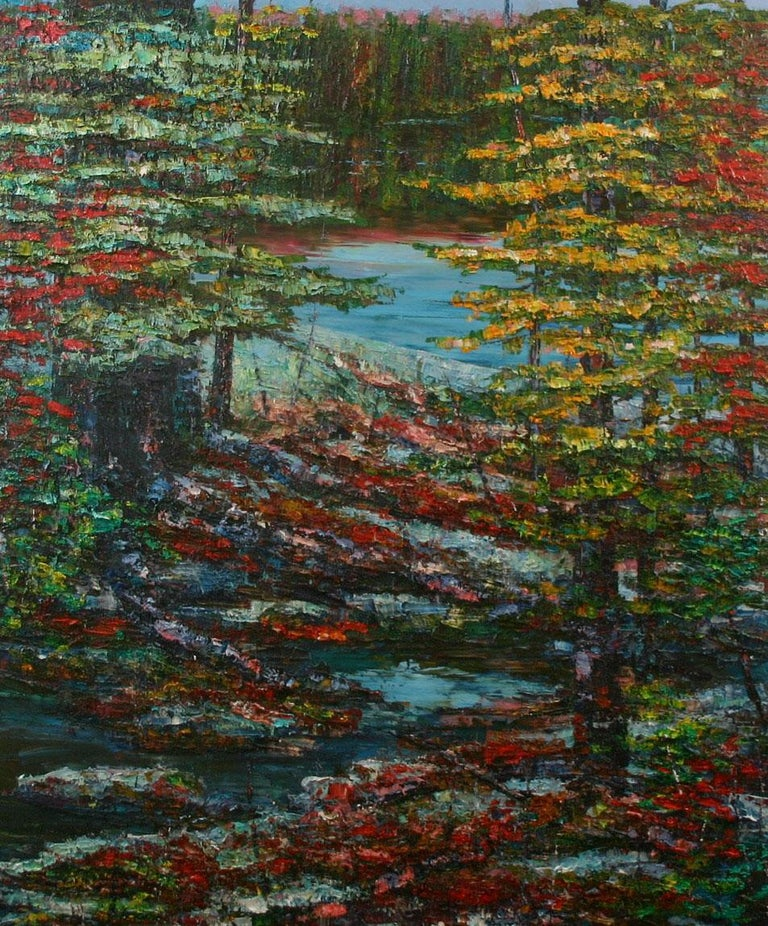 John Barkley Landscape Painting - Almost There