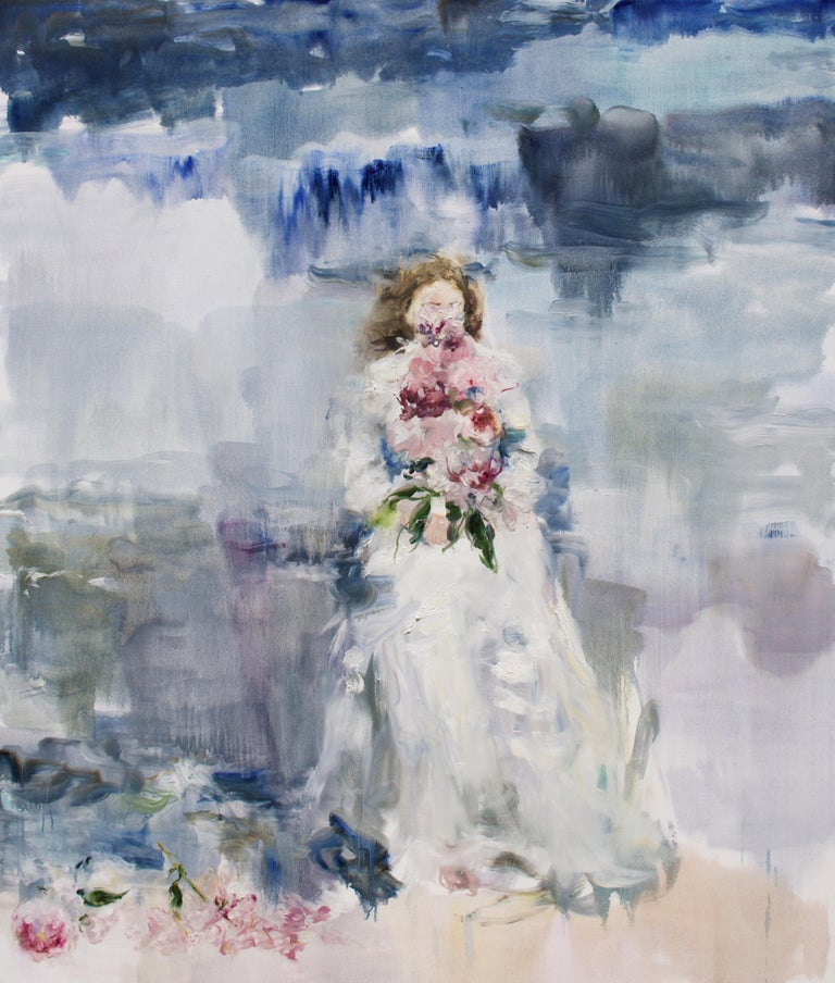 Darlene Cole Figurative Painting - Lake (wild)