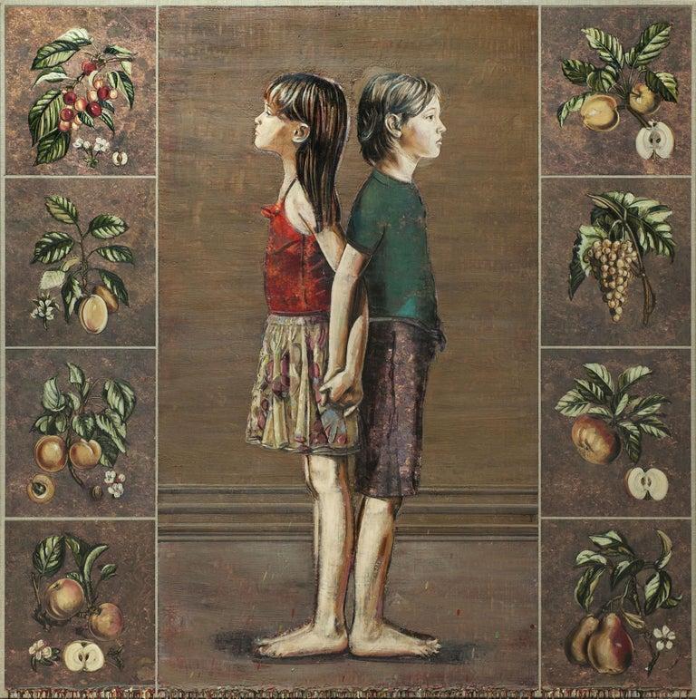 Jacques Payette Portrait Painting - Voici des fruits...
