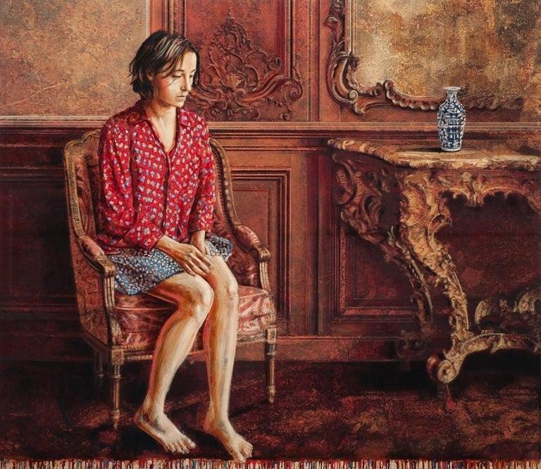 Jacques Payette Interior Painting - Le sourd bourdonnement du jour qui passe