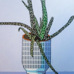 Big Aloe - Contemporary Still Life Painting by Donald Maclean