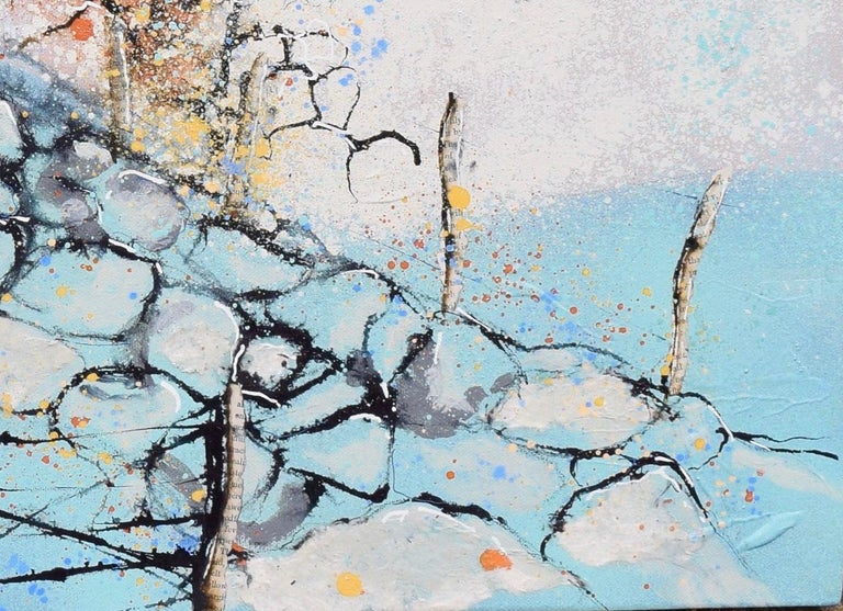 Leurbost III - Contemporary Landscape Painting by Helen Acklam For Sale 1