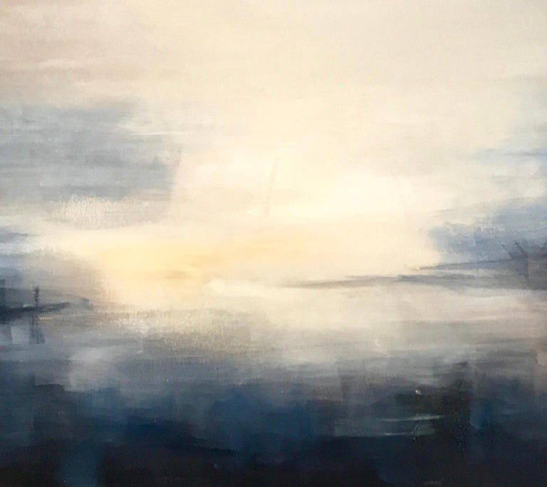 Last Rays - Contemporary Landscape Painting by Clodagh Meiklejohn For Sale 3