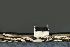 Hebridean Coast - Contemporary Landscape Painting by Ron Lawson