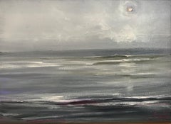 The North Sea - Contemporary Seascape Painting by Senja Brendon