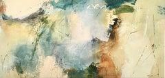 Evergreen - Abstract Painting by Natasha Barnes