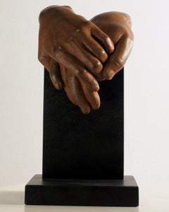 Do you feel the same? - Miguel Guía Realist Bronze layer Sculpture