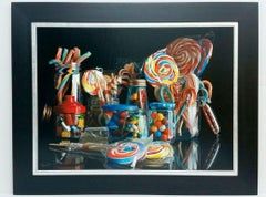 Composition - Vizcaíno Oil painting on canvas hyperrealism