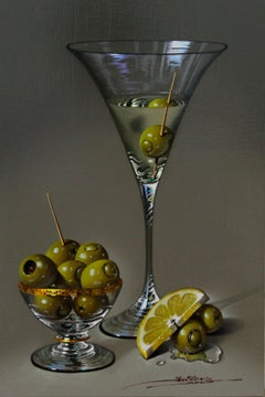 Martini - Mulio Oil painting on Board Realism