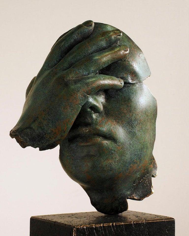 Reflexion - Miguel Guía Realism Bronze layer Sculpture 4