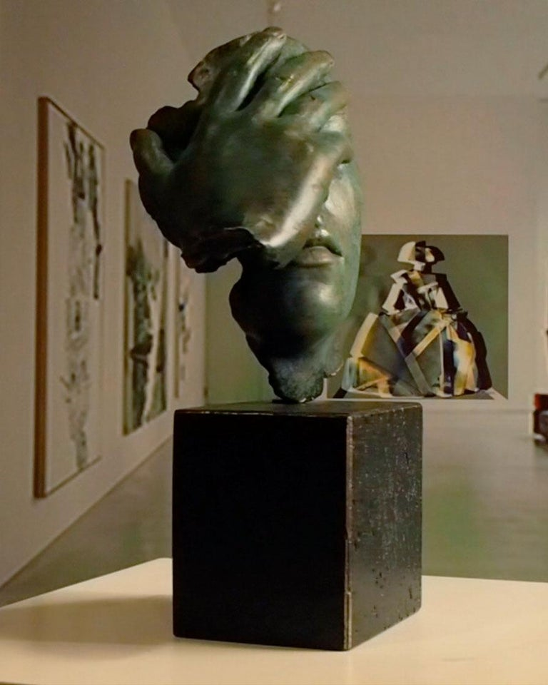Reflexion - Miguel Guía Realism Bronze layer Sculpture 10