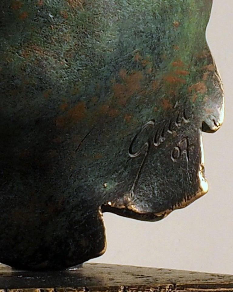 Reflexion - Miguel Guía Realism Bronze layer Sculpture 11