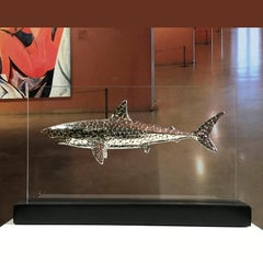 Deep evolution - Miguel Guía Pop Art Nickel layer Sculpture