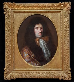 17th Century French Portrait of a Gentleman; Fine Frame