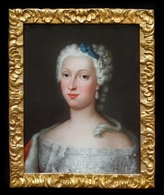 PORTRAIT of the Duchess of Brunswick-Wolfenbüttel (1715-1797), Fine Frame