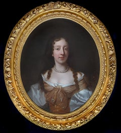 PORTRAIT of a Lady, late 17th / early 18th Century, Peter Lely, Carved Frame