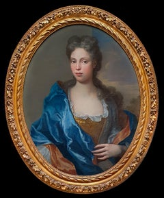 PORTRAIT of a Lady c.1700, Decorative Frame