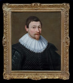 Portrait of William Ramsden (1558-1623) circa 1620, Excellent Provenance