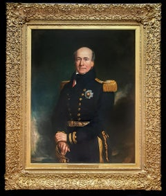 PORTRAIT of Vice Admiral Sir John Chambers White (c.1770-1845), Dated 1840