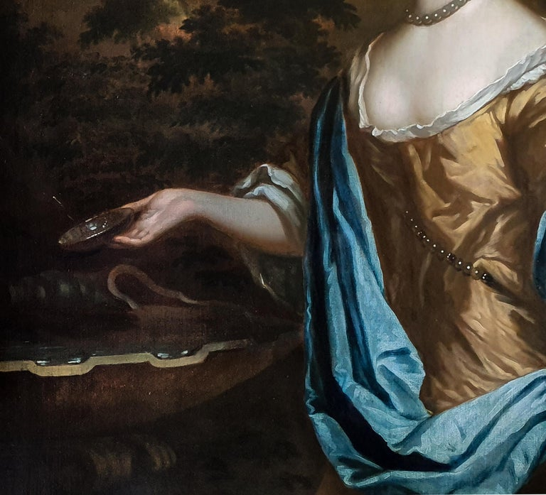 Portrait of Catherine, Lady Perceval (1637-1679) circa 1661 1