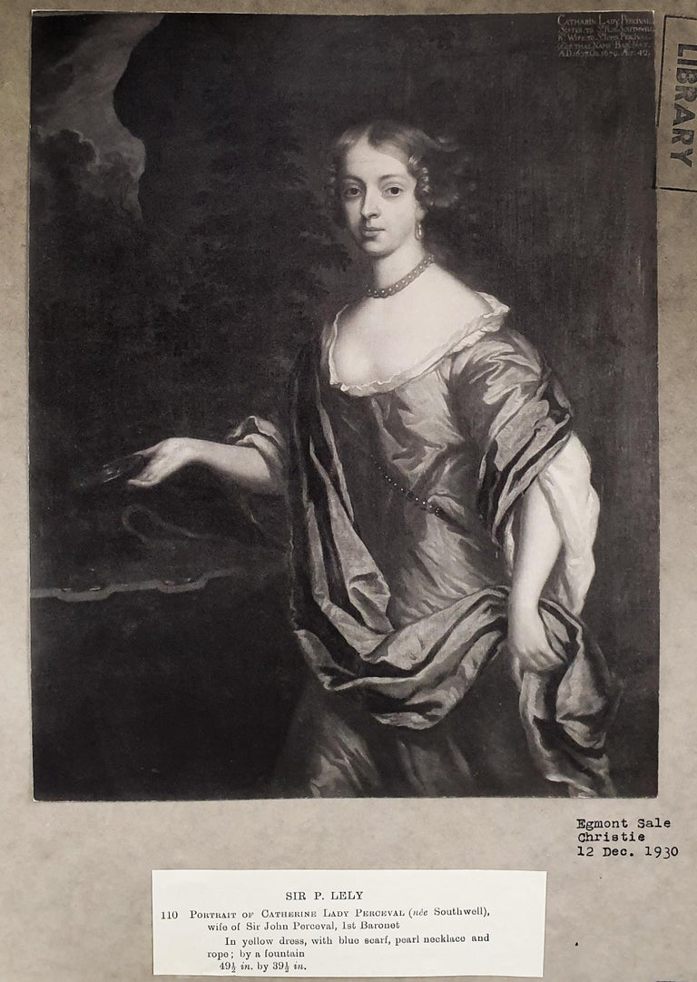 Portrait of Catherine, Lady Perceval (1637-1679) circa 1661 4
