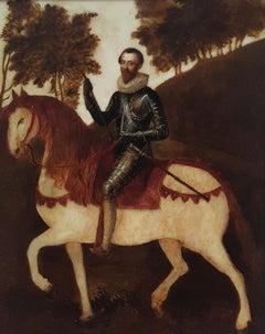Equestrian Portrait of a Nobleman circa 1620