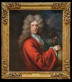 Portrait of a Captain Sir John Munden (c.1645-1719), Fine Carved Period Frame