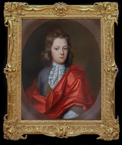 Portrait of a member of the Mellish family, Exquisite Quality, Fine Carved Frame