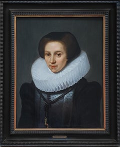 Portrait of a Lady, Dutch Golden Age, Fine Quality and Condition