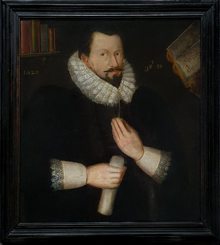 Portrait of Sir Richard Bolton, circa 1620 For Sale 1