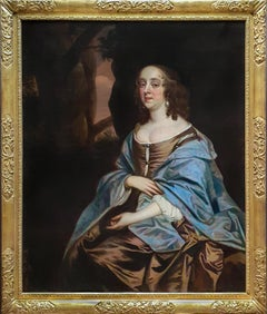 Portrait of Lady Judith Monson (c.1623-1700) c.1661; Antique Oil Painting