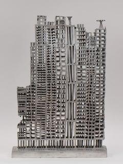 Alu-Skyline I - Aluminium Contemporary Art Sculpture Architecture