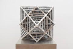 Durchdringung Platonischer Körper -  Contemporary Aluminium Sculpture Art