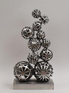 Dynamisch Augenblick - Aluminium Contemporary Sculpture Art