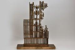 Skyline 11 september - Bronze Sculpture Contemporary Architecture Art