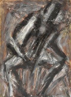 Male figure - Figurative Art Oil on Canvas