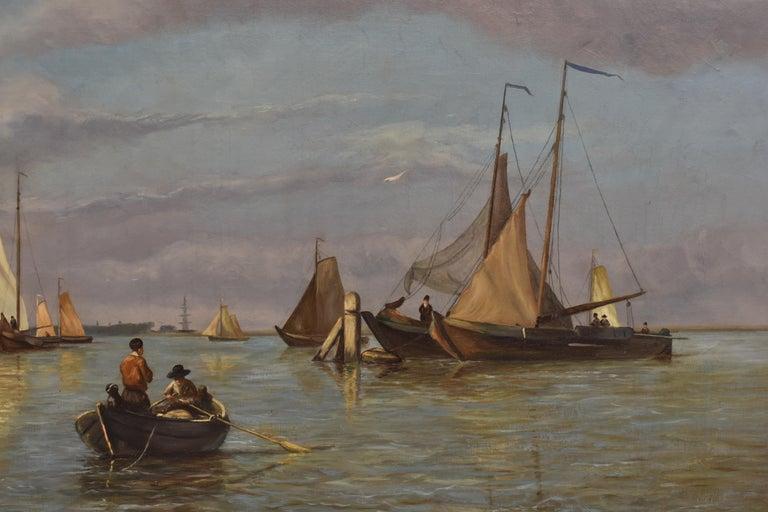 Willem Antonie van Deventer was a Dutch artist who was born in The Hague on 30 June, 1824. He passed away in Aldaar on 27 May, 1893.   Just like his brother, van Deventer got his first painting lessons from his uncle Hendrik van de Sande Bakhuyzen,