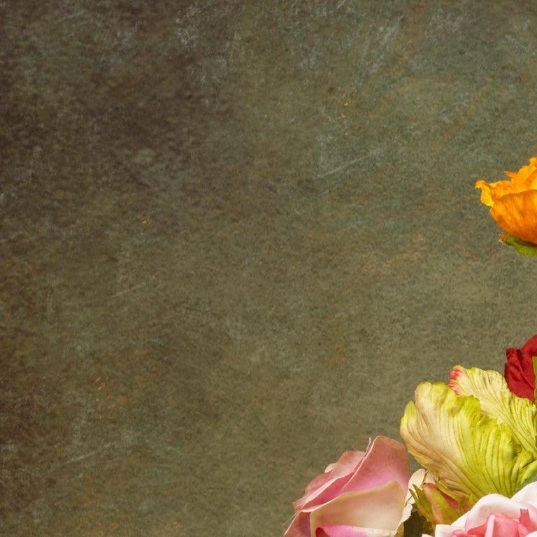 Photography Dibond Flowers Still Life Colour For Sale 1