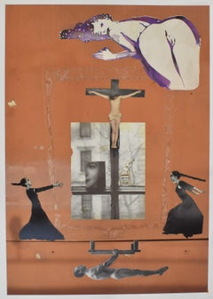 Holy Moly - photo collage, Dutch artist, paper, photography, contemporary